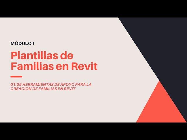 Familias en Revit 2020 | 05 01 Plantillas de Familias en Revit