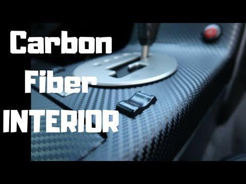 G35 CARBON FIBER (Interior) Wrap