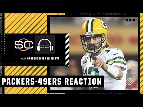 Reacting to Aaron Rodgers' drive to set up Packers win vs. 49ers   SC with SVP