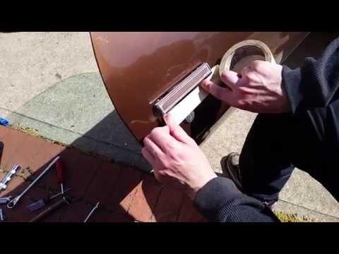 How To Replace A Car Door Handle - ex: Camaro  1970 - 1981