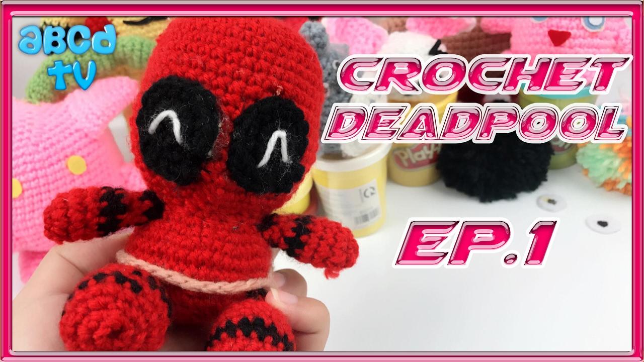 Crochet Deadpool Plushie - YouTube | 720x1280
