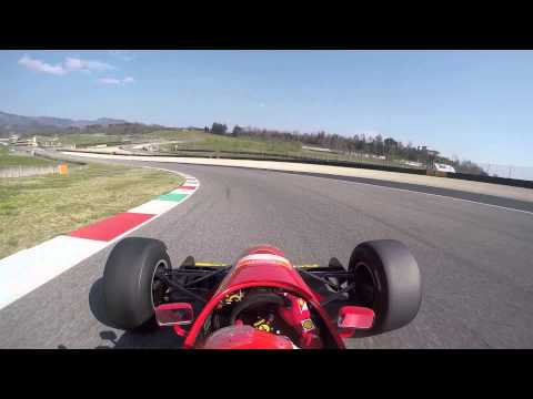 Ferrari F1 412T2 at Mugello F1 Cliente with Marc Gene, 2015