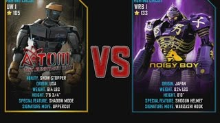 Real Steel WRB Atom VS Noisy Boy NEW graphics blows