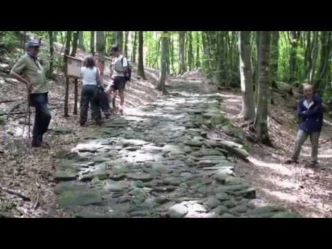 Legambiente: la strada romana Flaminia Militare del 187 a.C. (The Roman Road of 187 B.C.)