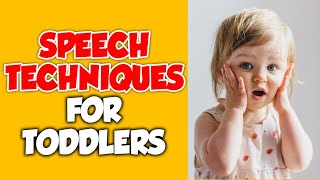 Speech for Toddlers Video - Speech Tips, Games, Techniques - Videos for Toddlers Speech Development