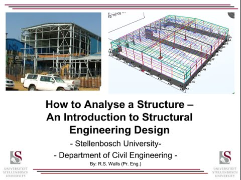 How to analyse and design a structure building youtube for Structural design of a house