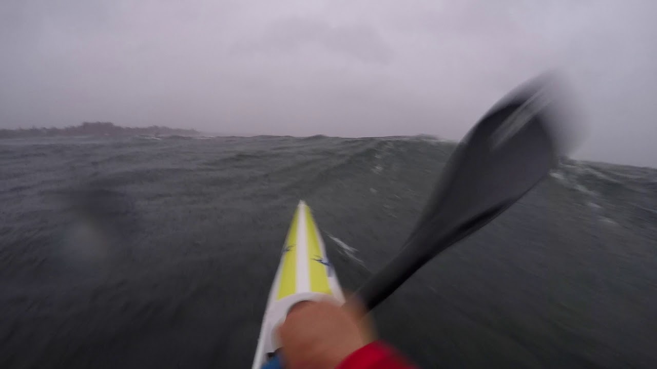 Surfski.ch - 45kn on the German/Swiss Lake