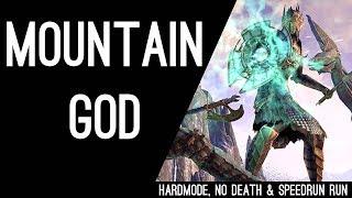 "Scalecaller Peak - Hardmode No Death Speedrun ""Mountain God"" - Dragon Bones DLC"