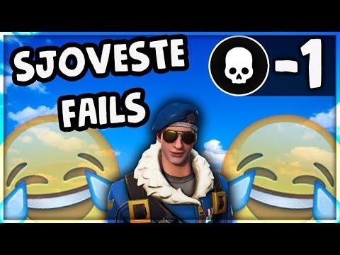 SJOVESTE FAILS | Danske Fortnite Highlights #102