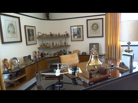 Walt Disney's restored office suite tour at Walt Disney Studios lot