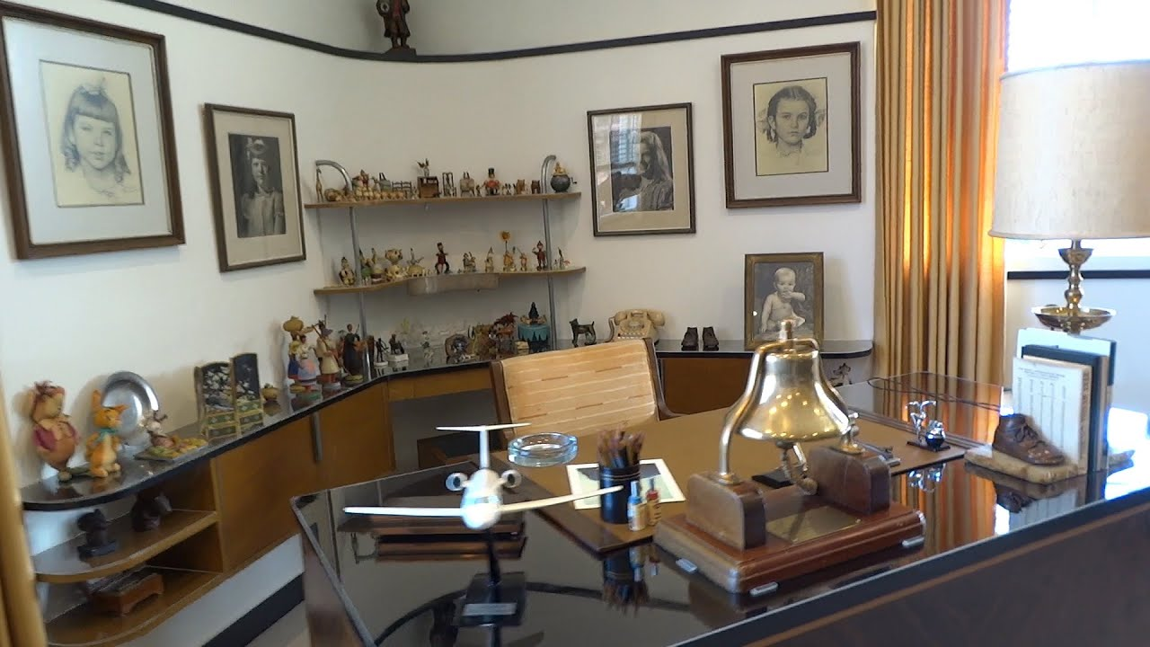 55b2331cac Walt Disney s restored office suite tour at Walt Disney Studios lot ...