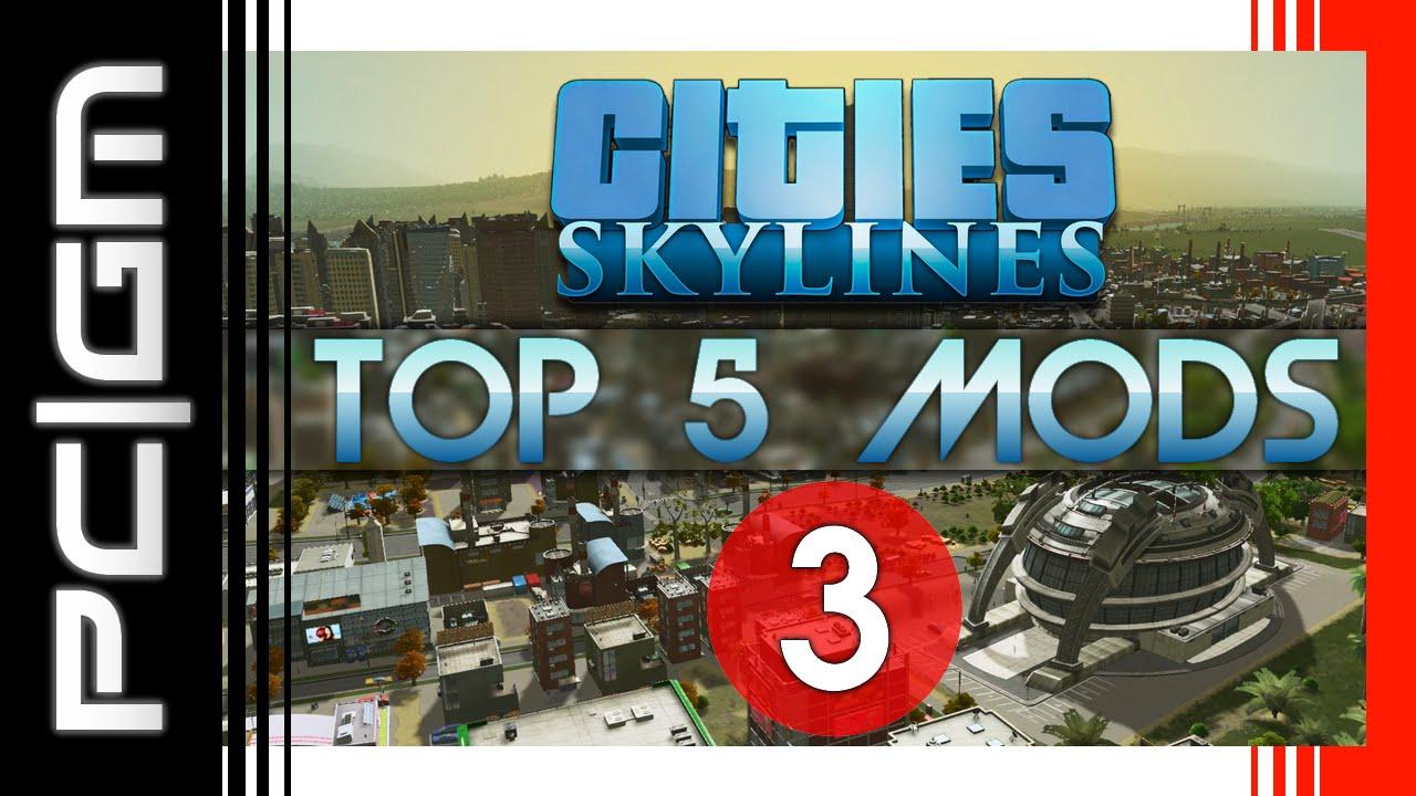 Cities: Skylines - Top 5 Mods d'interface ! (FR)