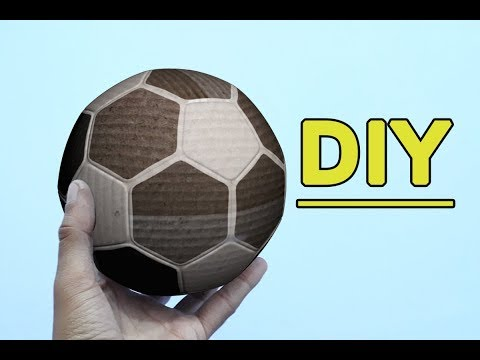 How to make a football card board
