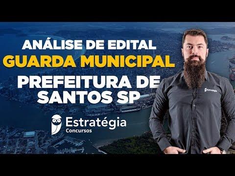 Concurso Prefeitura de Santos SP: Análise de Edital - Guarda Municipal