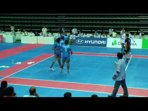 2013 Incheon Asian Indoor & Martial Arts Games kabaddi / KOREA vs INDIA (Men)