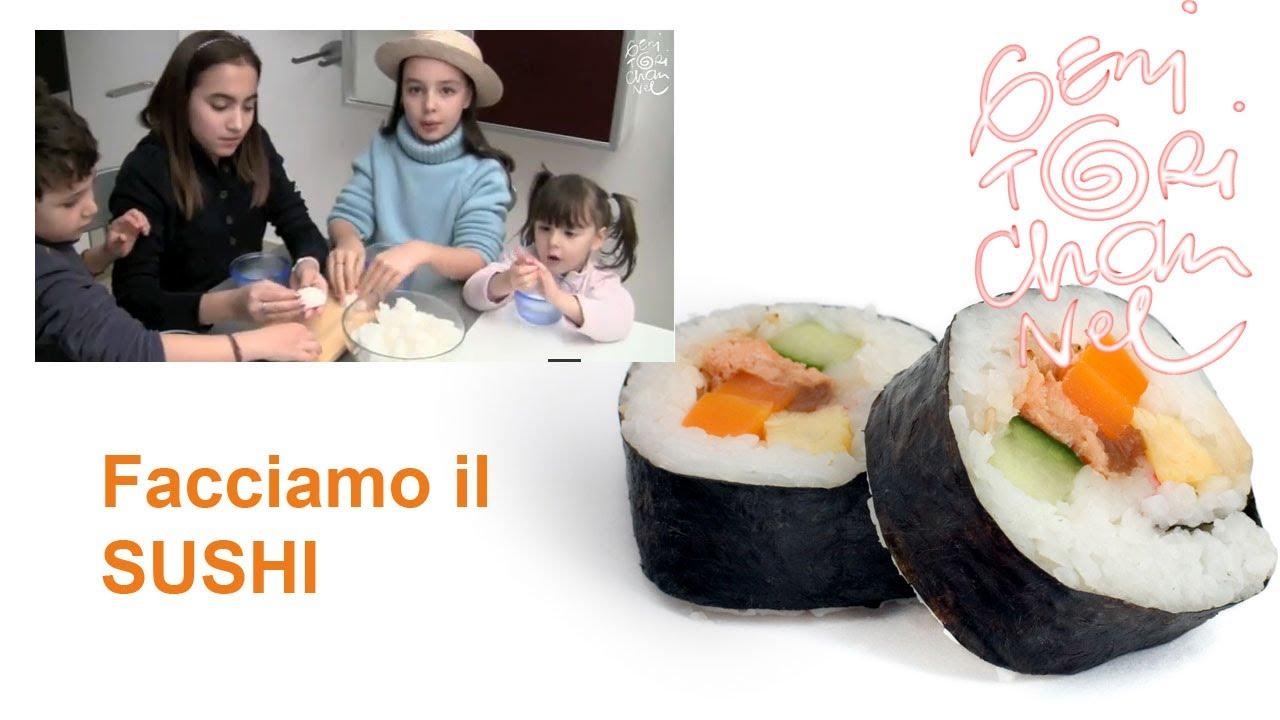ricetta per cucinare il sushi (sushi maki e nighiri) - youtube - Cucinare Il Sushi