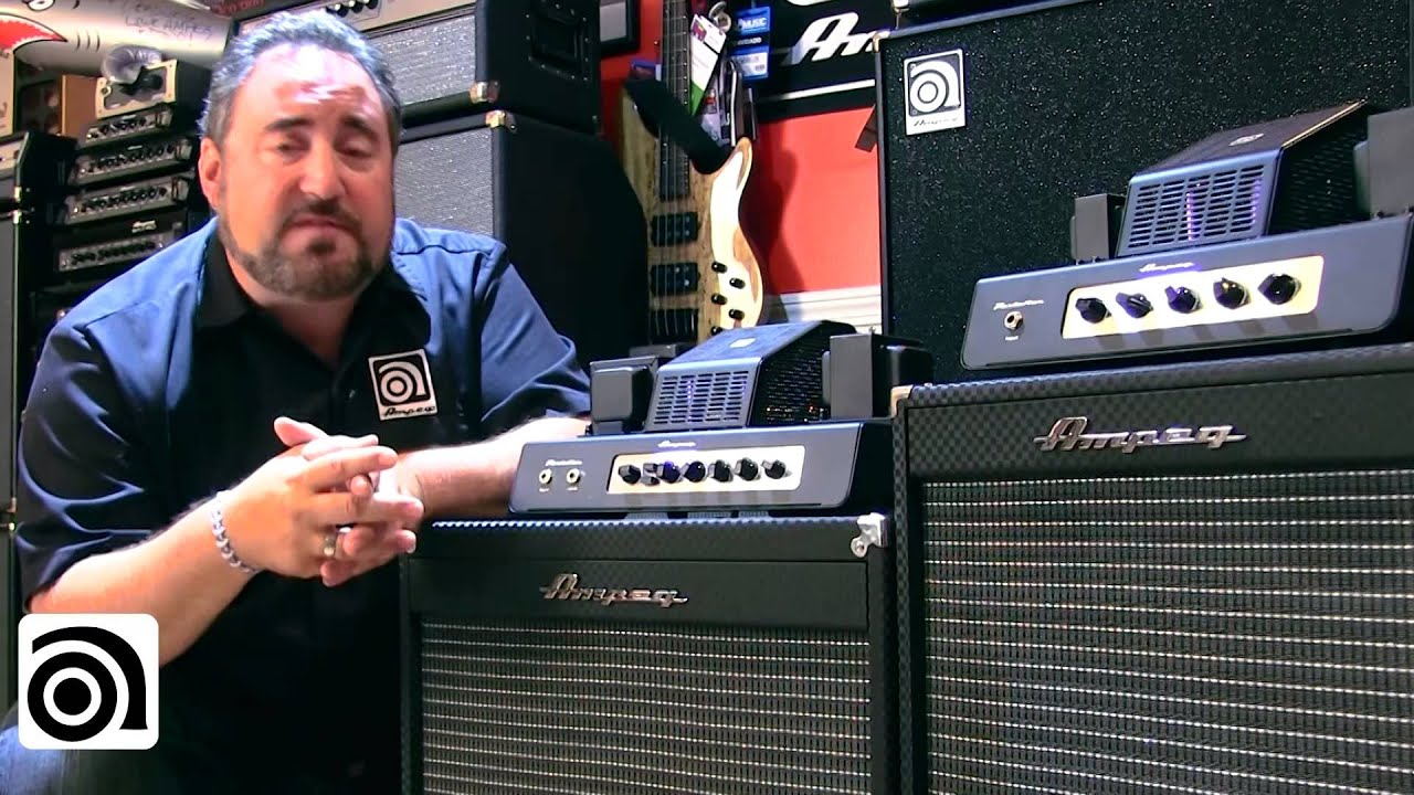 Ampeg PF-50T Tube Bass Amplifier Head REVIEW | Performer Mag