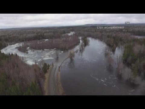 National Weather Service In Caribou Issues Flood Warning For The Area Of The Mattawamkeag River