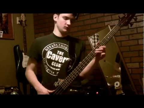 Rolling Stones - Bitch - Bass cover