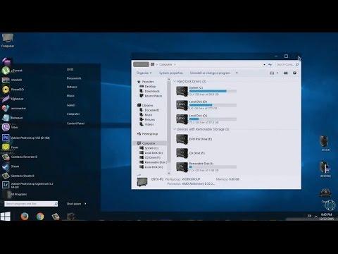 Windows 10 theme for Windows 7 Mod2