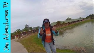 Fishing Fail- Girl Freaks Out