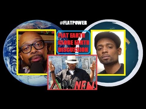"Jabari Vs. Sanchez: This Is A Scientific Debate , "" Flat Earth: Reality Or Fiction ?"
