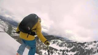 Backcountry Skiing via Canyons Resort Backcountry Gates