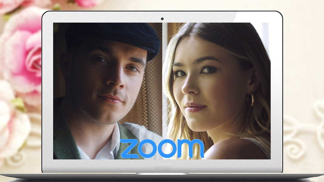 WATCH THIS COUPLE GET MARRIED OVER ZOOM!