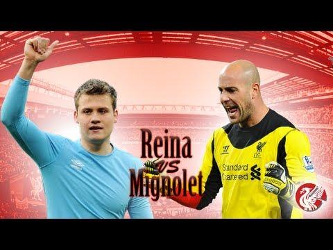 Pepe Reina VS Simon Mignolet | 2012-2013 | HD