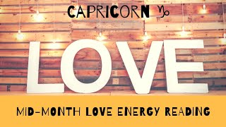 ♑ Capricorn: BE PRESENT! 🙏 Choose Love! 💕💕💕👈