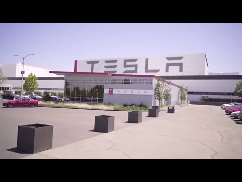 Tesla Gigafactory Lattest video