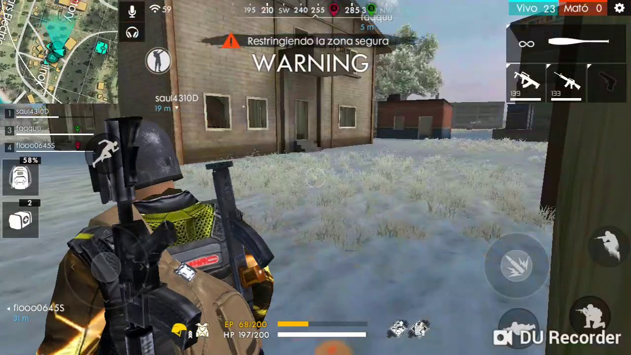 JUEGO FREE FIRE (PART 2) - YouTube