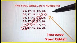 How to Increase Your odds in Winning The Mega Millions Lottery Jackpot!