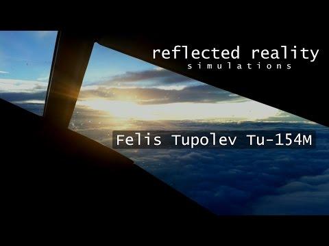 Felis Tu154 Part 2 - LQSA Arrival [X-Plane]