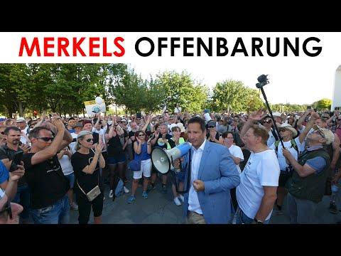 Wunder von Berlin: Verheimlichte Spontandemo vor dem Kanzleramt & Reden & Festnahme Thorsten Schulte