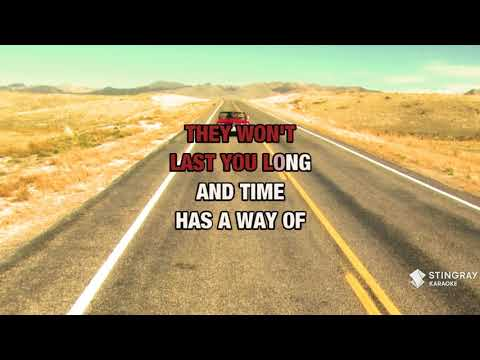 Silver And Gold in the style of Dolly Parton | Karaoke with Lyrics