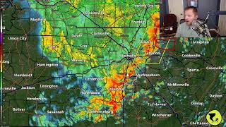 Severe Storm Coverage for May 4, 2021