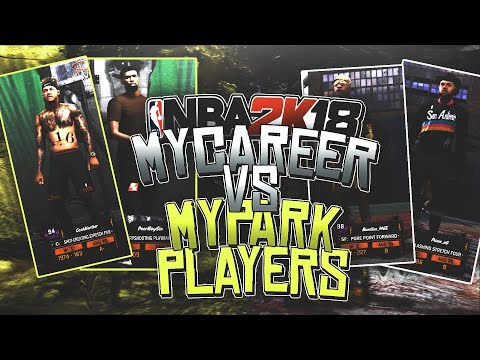 98 Overall Pure Point Forward In All Gold Dropped Off - MyCareer Vs Park Players Game #5
