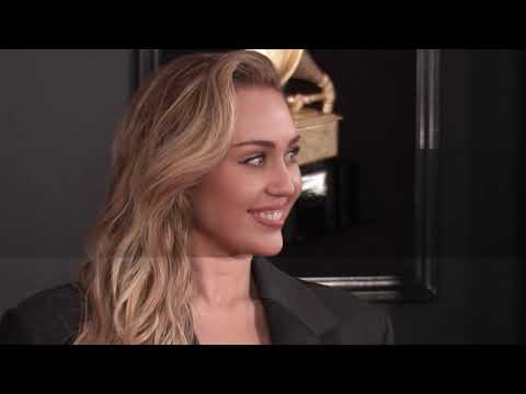 Miley Cyrus on the Red Carpet   2019 GRAMMYs
