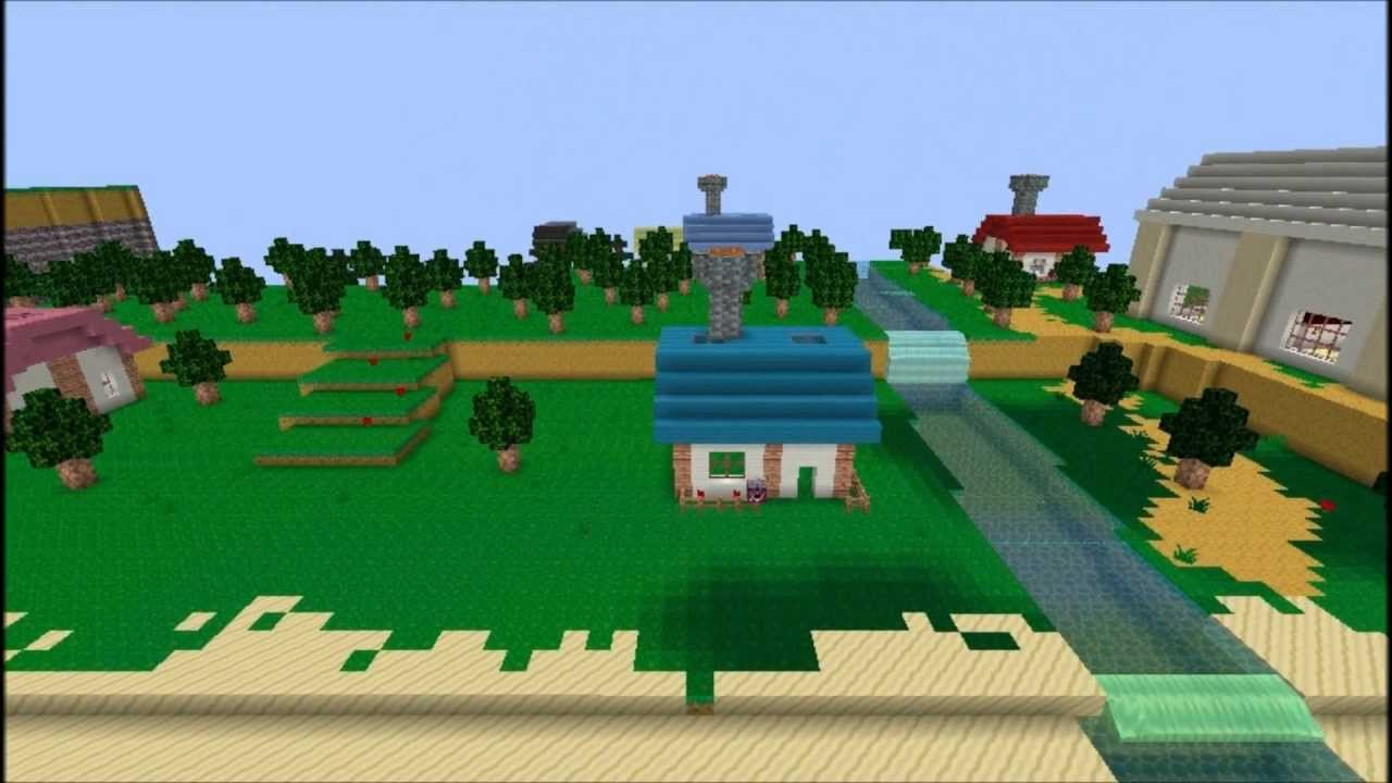 Animal Crossing in Minecraft Survival map YouTube