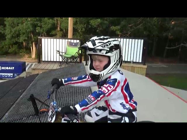 BMX race training for a 5 EXPERT