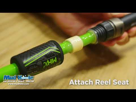 How To Build A Split Grip Fishing Rod Handle In 30 Seconds