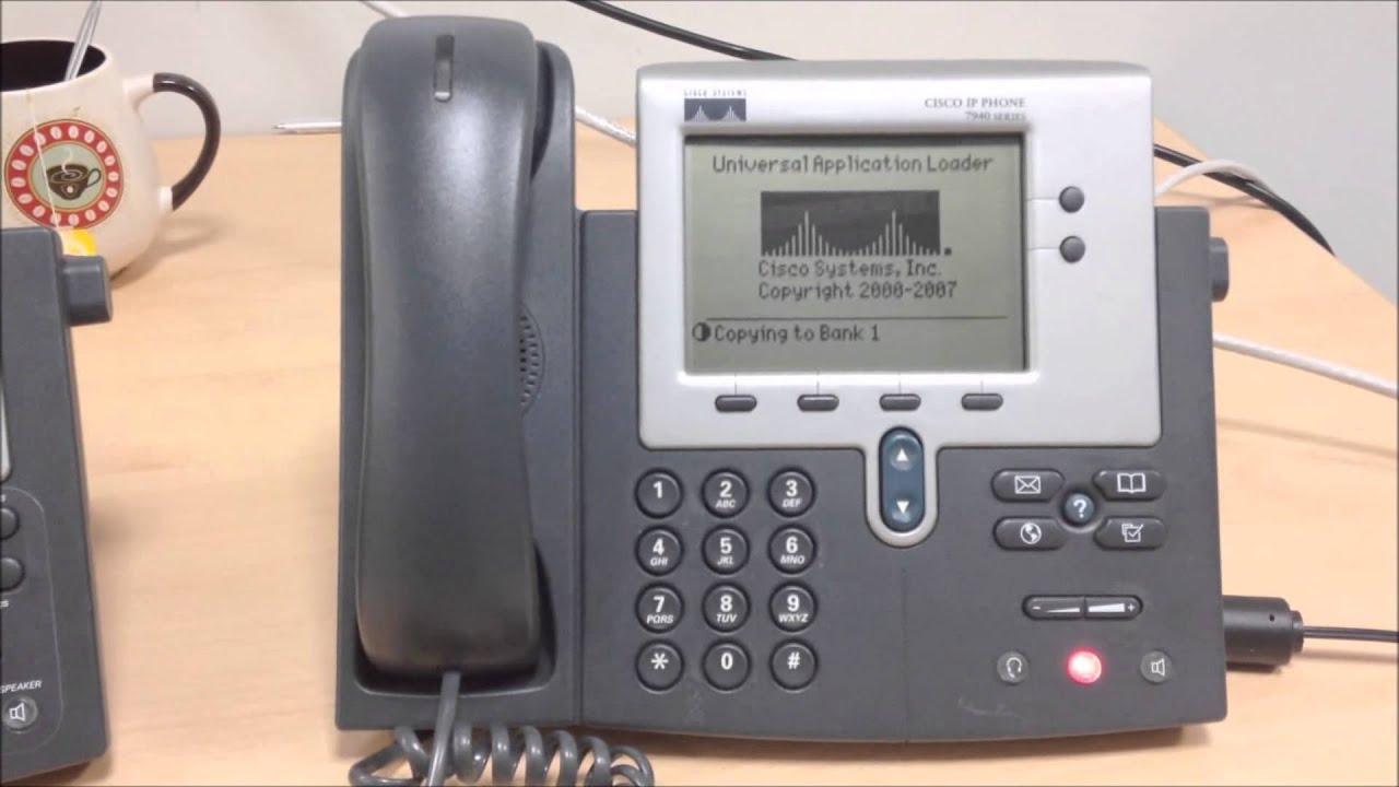 Cisco 7960G IP Phone SCCP Mac