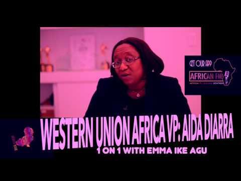 Aida Diarra: Western Union Africa VP Chats with Emma Ike Agu