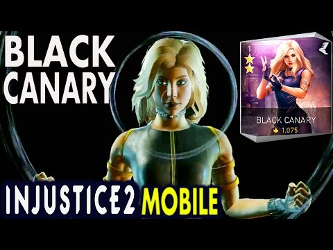 Injustice 2 Mobile: BLACK CANARY. Super move | Gameplay | Review. Android/IOS