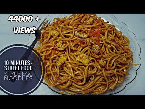 ♨ഇങ്ങനെ നൂഡിൽസ് ഉണ്ടാക്കി നോക്കിയിട്ടുണ്ടോ | Easy egg noodles recipe in Malayalam| # 106