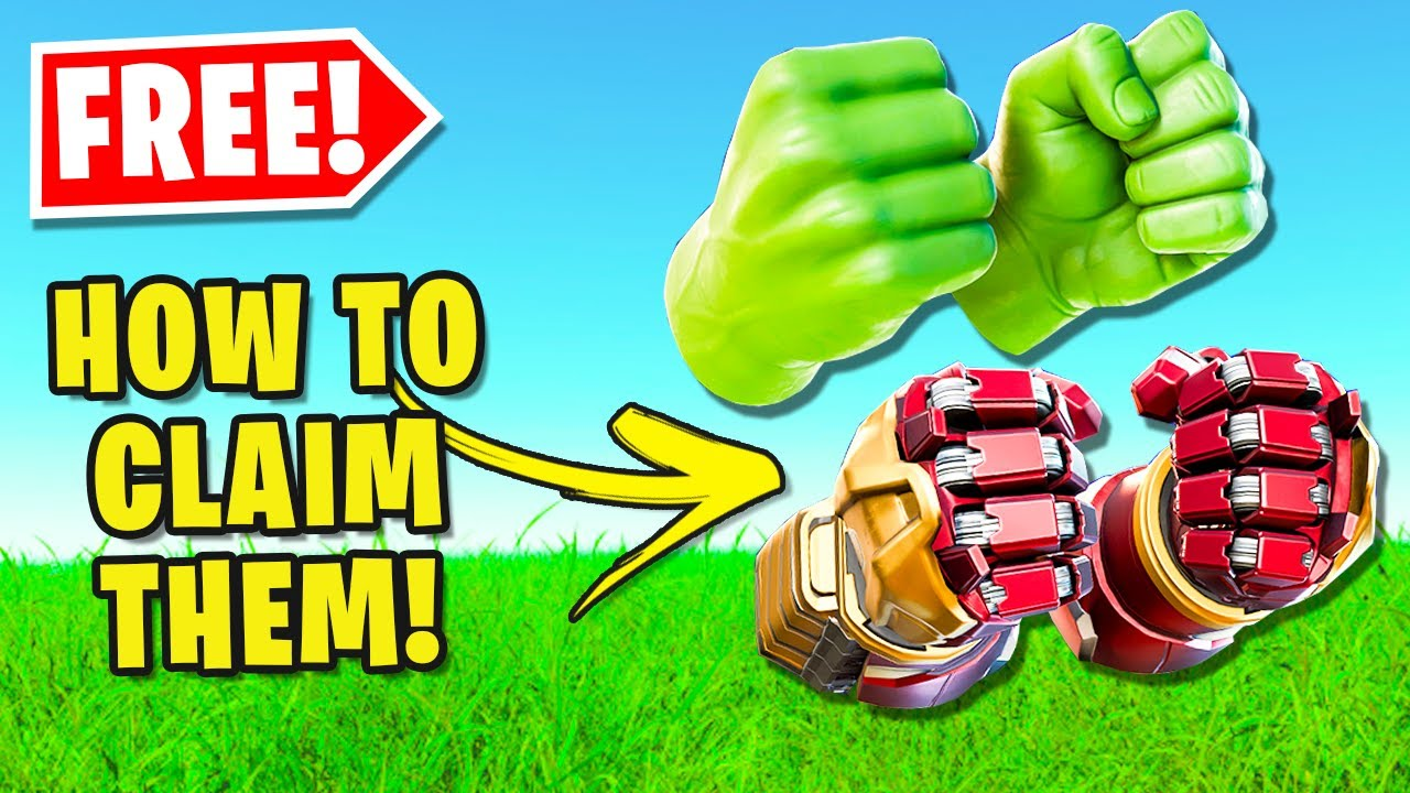 How To Get Hulk Smasher Pickaxe For FREE In Fortnite