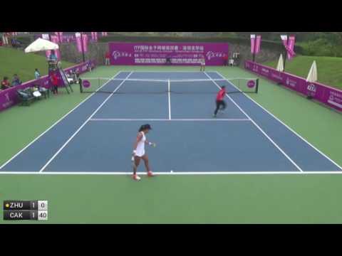 Zhu Lin v Cako Jacqueline - 2016 ITF Shenzhen