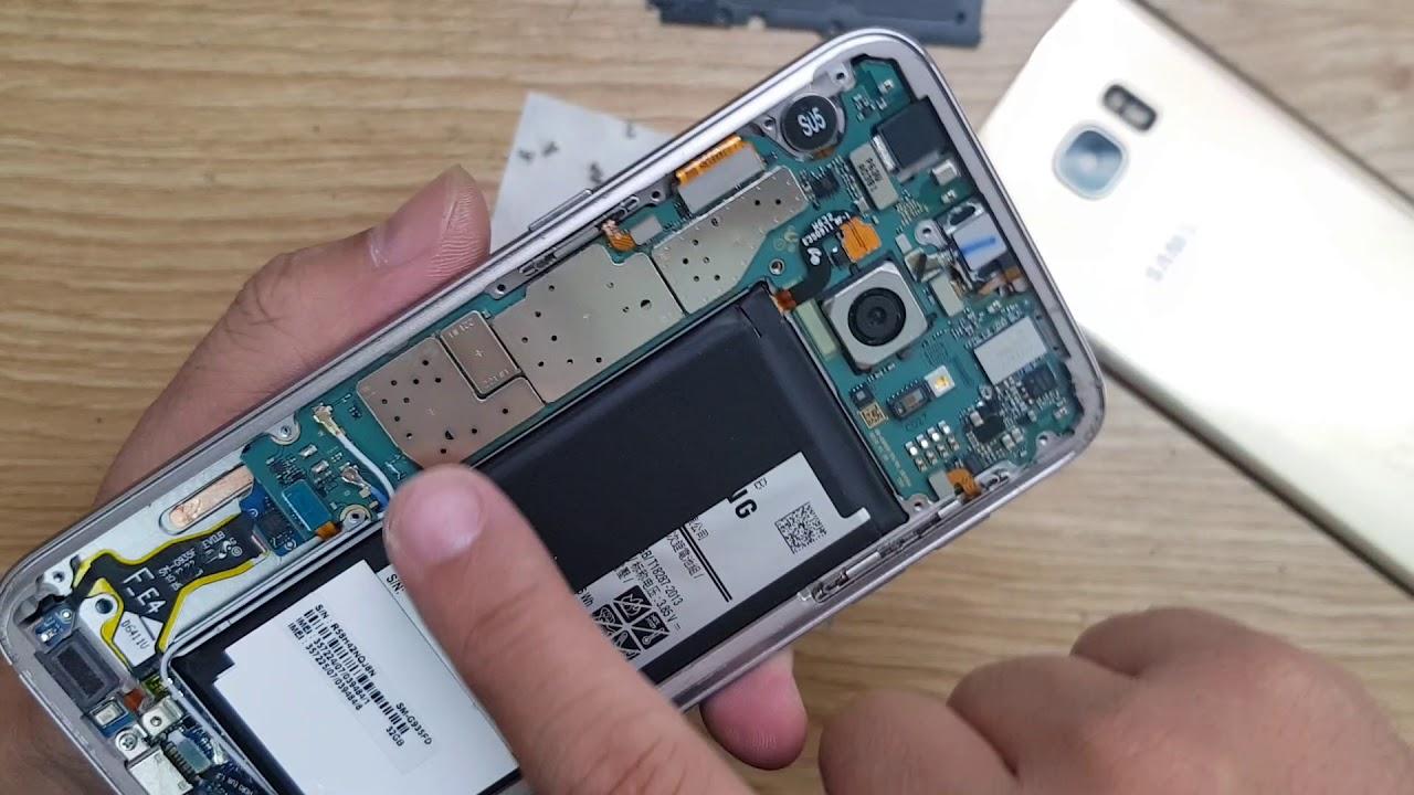 Samsung S7 Edge Chết Nguồn – Chi Tiết Hướng Dẫn Tháo Máy Nhanh Kiểm Tra Máy 02466750999