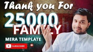 #shorts #short video 25000 Subscriber Complete - Thankyou So Much